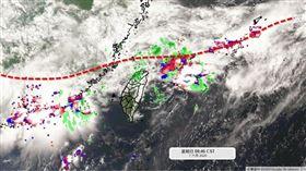 氣象局,天氣,吳聖宇 圖/翻攝自天氣職人-吳聖宇