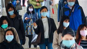 台鐵防疫升級 4月起大型車站實施量體溫(3)武漢肺炎疫情升溫,台鐵配合防疫工作,將於4月1日起在大型車站實施進站旅客量測體溫,並呼籲所有乘客搭車時配戴口罩。中央社記者王騰毅攝 109年3月31日