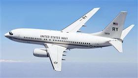16:9 軍機 美國海軍運輸機 波音C-40 飛過台灣領土上空 圖/翻攝自維基百科