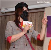 利菁出席台灣優質生命協會2020「感謝守護‧永遠挺您」醫護警消感謝箱捐贈記者會。(記者邱榮吉/攝影)