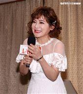 王彩樺出席台灣優質生命協會2020「感謝守護‧永遠挺您」醫護警消感謝箱捐贈記者會。(記者邱榮吉/攝影)