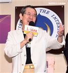 巴戈出席台灣優質生命協會2020「感謝守護‧永遠挺您」醫護警消感謝箱捐贈記者會。(記者邱榮吉/攝影)