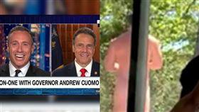 跟州長哥鬥嘴爆紅 他全裸亂入妻影片 CNN,Chris Cuomo,主播,州長,紐約,全裸,瑜珈 翻攝自IG Chris Cuomo、推特