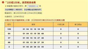 ▲大樂透加碼100組100萬。(圖/翻攝自台灣彩券官網)