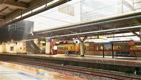 台鐵,脫離,車廂,滑行,調車(翻攝自 Googlemap)