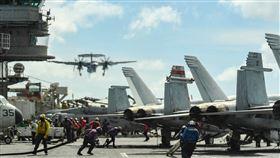 美軍3航母部署太平洋畫面曝光(圖/翻攝美軍太平洋艦隊臉書)