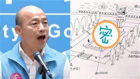 韓國瑜銅像設計圖