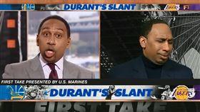 打臉自己!網「神剪接」浮誇名嘴爆紅 NBA,ESPN,球評,Stephen A. Smith 翻攝自推特