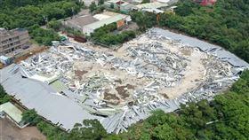新北拆除史上最大鐵皮違建,UAV科技執法持續守護新北(圖/新北市政府)