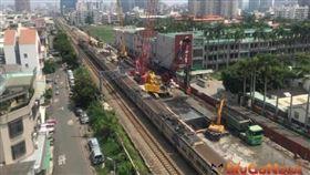 台南鐵路地下化計畫於6月11日開始執行地上物強制拆除(圖/資料照)