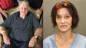 女看護持鐵鎚…打死100歲二戰老兵 紐約,二戰,老兵,Gerald Early,看護,Brenda McKay,謀殺,鐵鎚 翻攝自推特