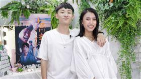 《無主之子》演員蔡承翰、郭雅茹上梵緯老師節目學包肉粽(民視提供)