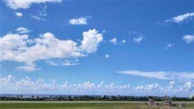 好天氣、大太陽、出遊(圖/記者邱榮吉攝影)