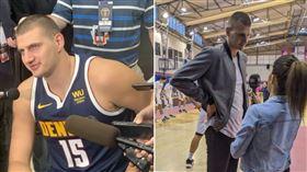 NBA/金塊一哥「激瘦」畫面曝光! NBA,丹佛金塊,Nikola Jokic,塞爾維亞,過重,減肥 翻攝自推特