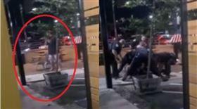 飯店傳尖叫!怪男咬手臂「吃自己的肉」 32分鐘後離奇亡(圖/翻攝自Redding Police Department臉書)