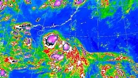 颱風鸚鵡生成 圖翻攝自氣象局