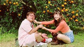 依依,納豆,求婚,戒指,國光女神,回應,CTWANT 圖/翻攝自臉書