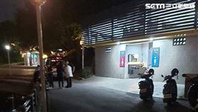 新北蔡男疑似吸毒過量暴斃在新莊體育場公廁。(圖/翻攝畫面)