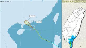 吳德榮:鸚鵡颱風增強午後對流強度