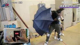 奢華VS.平價雨傘測試 七千高級傘強抵15級狂風