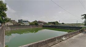 嘉義,婦人,池塘,落水,溺斃,浮屍(圖/翻攝自GoogleMap)
