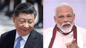 習近平、印度總理莫迪