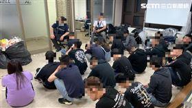 台北市刑大破獲博弈網站投資詐騙集團。(圖/翻攝畫面)