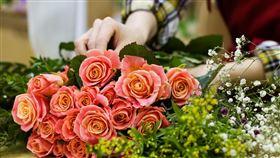 花店,鮮花。(圖/Pixabay)