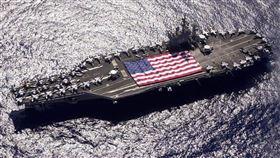 美軍航母尼米茲號部署太平洋(圖/翻攝美國太平洋艦隊臉書)