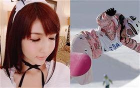 日本前滑雪板奧運國手今井夢露,為了錢一度下海陪酒、拍AV。(圖/翻攝自IG)
