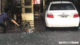新/雨彈狂炸!台中車站大里多處淹水
