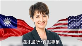 蕭美琴駐美,民進黨臉書貼文(圖/翻攝臉書)