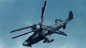 ▲Kamov Ka-52M升級型戰鬥直升機。(圖/翻攝自推特)