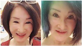 深溝嚇死人 67歲恬娃「上空裸拍」:很多貴人等我拍寫真,翻攝自恬娃臉書