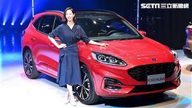 ▲The All-New Ford Kuga廣告代言人張鈞甯。(圖/鍾釗榛攝影)