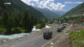 印度軍隊往拉達克移動,中印衝突,印度(圖/AP授權)