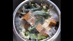 盤絲洞,暗黑料理,秋葵,電鍋,發霉,照片,驚悚