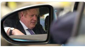 英國首相強森(圖/翻攝自Daily Caller推特)