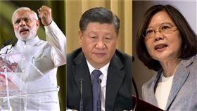 印度媒體獻策政府 與台灣合作共抗中國