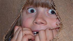 小孩驚恐。(圖/翻攝自Pixabay)