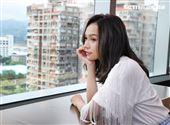 林采欣三立新聞網專訪。(記者邱榮吉/攝影)