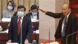 楊明州進議會備詢 網:高雄有市長了