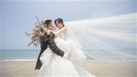 陳郁安婚紗照。(圖/凱渥提供)