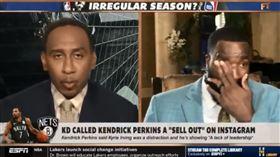 KD怒嗆「反骨仔」 球評前隊友哭了 NBA,奧克拉荷馬雷霆,Kevin Durant,Kendrick Perkins 翻攝自推特