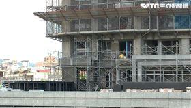 工地,施工,蓋房子。(圖/記者陳韋帆攝影)