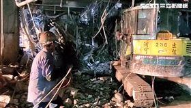 京華城,活埋工人,罹難,台北,翻攝畫面