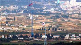 ▲南北韓邊界。(圖/翻攝自推特)