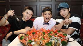 TVBS提供 42頻道《食尚玩家熱血48小時》 昔日棒棒堂合體 威廉有意組新團「Special Lollipop」 TVBS提供