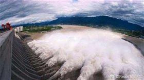 三峽大壩(圖/翻攝自微博)