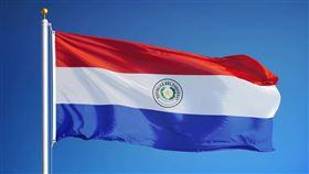 巴拉圭共和國國旗。(圖/翻攝自中華民國駐巴拉圭大使館臉書)  https://www.facebook.com/pg/TWenParaguay/photos/?ref=page_internal